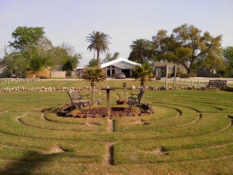 Carmel Temple Labyrinth