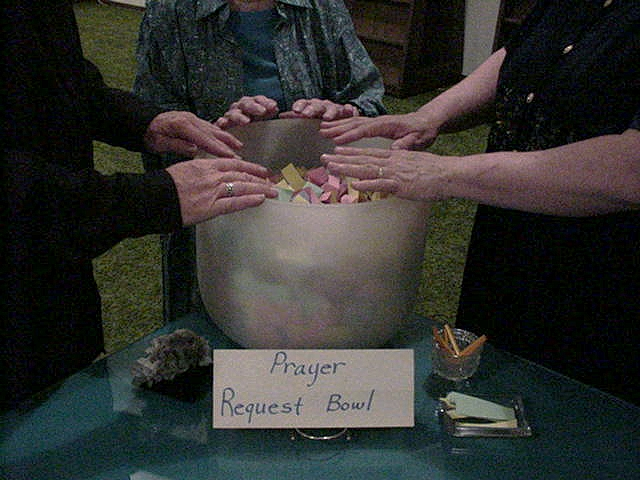 Prayer request bowl
